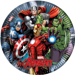 MARVEL'S Avengers Party Plates | Free Delivery